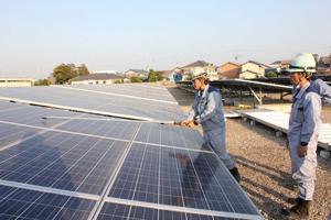太陽光発電システムメンテナンス